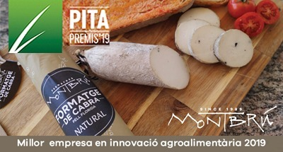 Montbrú is the best innovative agri-food company in Catalonia in 2019
