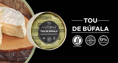 Creamy, mild and with all the flavour of the best Catalan buffalo milk